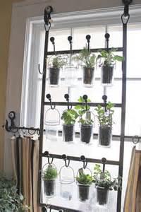 Kitchen Window Herbs Diy Indoor Herb Garden Ideas