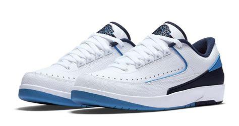 Air 2 Retro Low 832819107 Blue Jumpman Ii Basketball Shoes Oss air 2 retro low sneaker finders