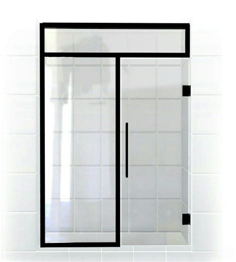 91 Best Images About Gridscape Series Coastal Shower Black Shower Door