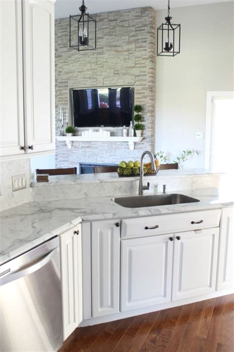 white formica kitchen cabinets final kitchen makeover reveal love and bellinis using