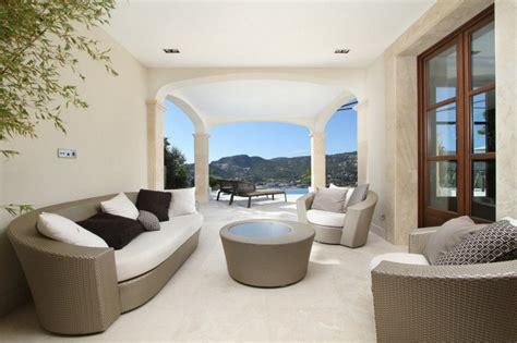 Open Kitchen Shelves Decorating Ideas modern mediterranean luxury villa in mallorca