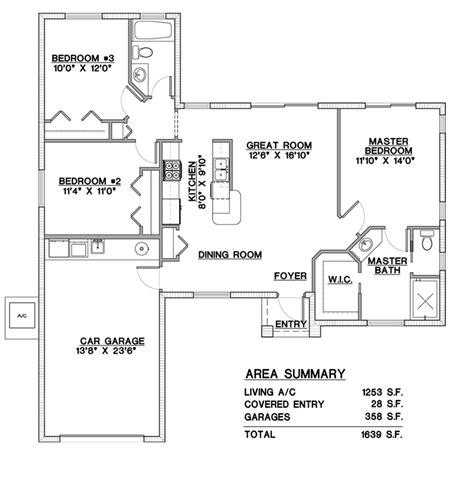 house plans with exterior concrete walls florida plans