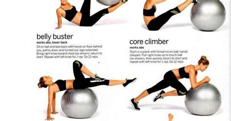 fitball exercises favourite workout routines pinterest sexy facebook   life