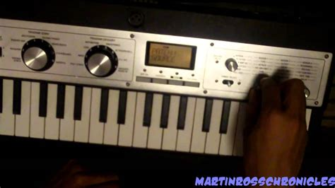 microkorg xl tutorial español how to patch your microkorg xl youtube