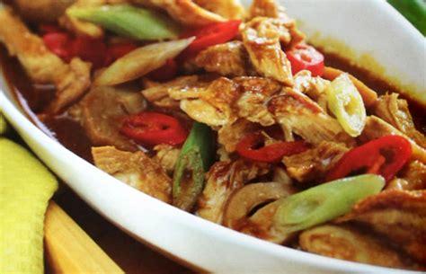resep mie ayam jamur resep cara membuat masakan enak resep cara membuat semur ayam suwir jamur resep123