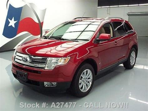 how does cars work 2008 ford edge parking system purchase used 2008 ford edge sel leather park assist 18 quot wheels 86k texas direct auto in