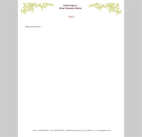Office Letterhead Template Free by 10 Best Premium Letterhead Design Free Templates Free