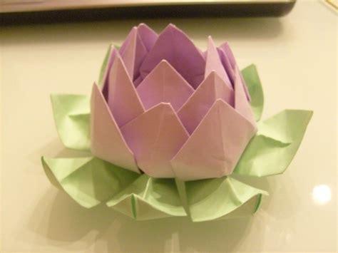 origami fiori istruzioni origami fiore di loto fiori di carta come fare fiori