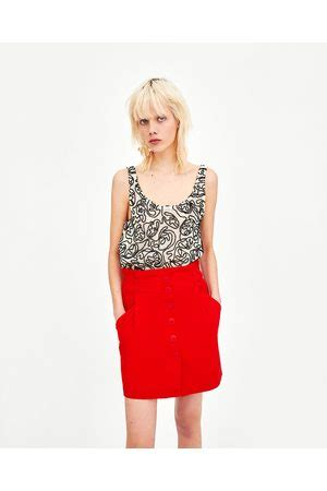 Zara Paperbag L buy zara mini skirts for fashiola co uk compare buy