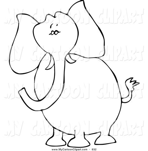 elephant outline coloring pages elephant eating outline coloring pages