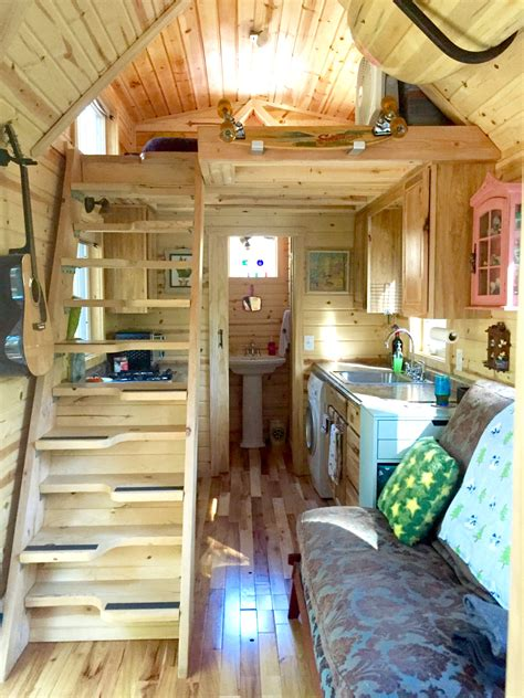 Exciting House Plans Nicki S Colorful Victorian Tiny House After One Year