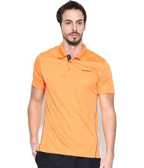 Polo Tshirt Reebokt Shirt Reebokkaos Polo Shirt Reebok Biru reebok orange polyester polo t shirt buy reebok orange polyester polo t shirt at low