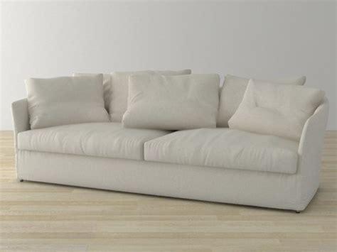 curve sofas curve sofa 3d model living divani