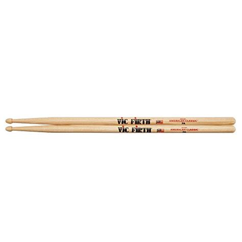 Usa Hickory 7a By Vic Firth vic firth vf7a baguettes hickory am 233 ricain olive en bois 7a drum buy free scores
