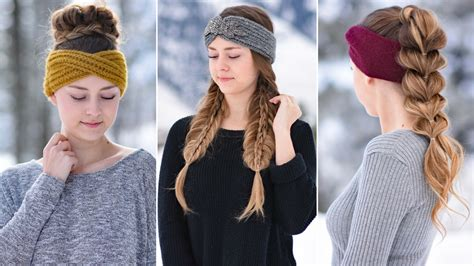 Thick Headband Hairstyles by 3 Easy Headband Hairstyles Hairstyles