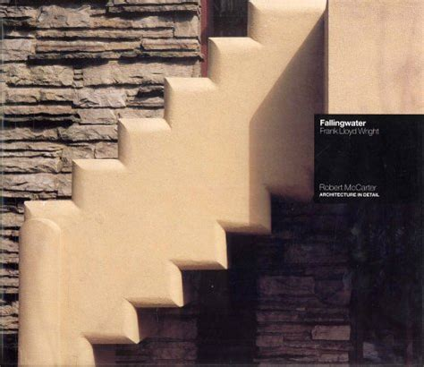 librerie scientifiche fallingwater frank lloyd wright robert mccarter
