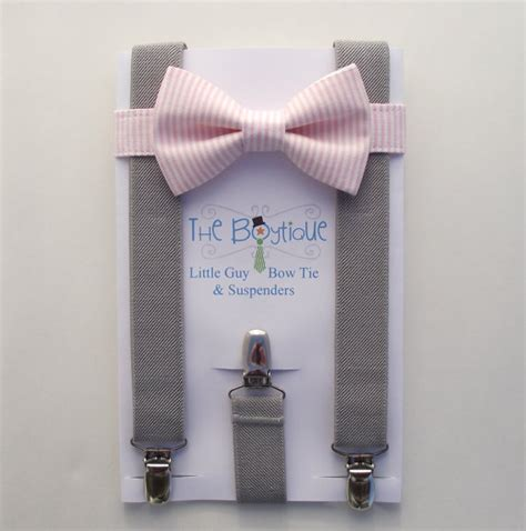 light up bow tie and suspenders pink bow tie and suspenders pink stripe bow tie and light