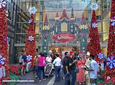pavilion kl new year decoration 2015 eat till tummy and new year decoration at