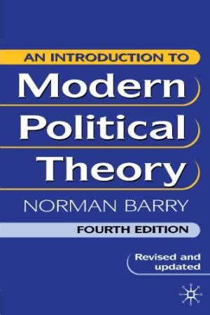 political theory an introduction an introduction to modern political theory by barry norman abebooks