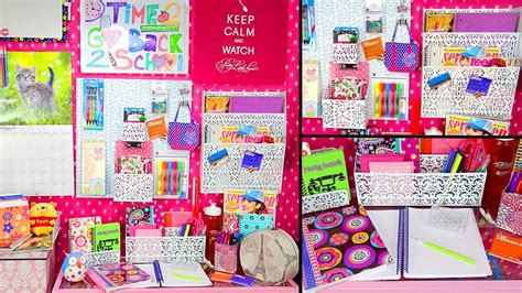 Back To School Desk Organization Back To School Desk Tour Organization