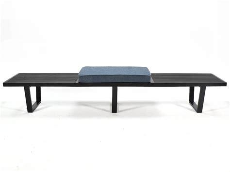 george nelson slat bench george nelson slat platform bench at 1stdibs