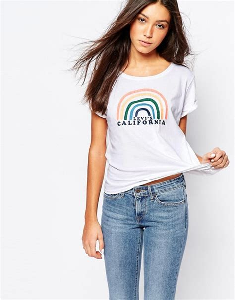 Tshirt Levis Soul Colection levis levi s t shirt avec logo arc en ciel