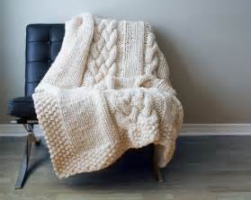 Diy Knit Rug Diy Knitting Pattern Throw Blanket Rug Super Chunky Double