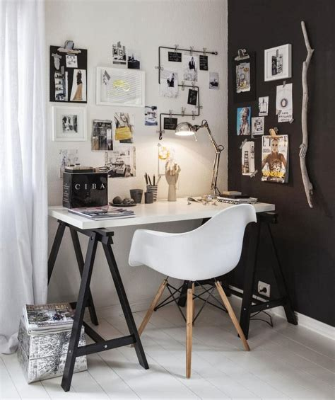 Home And Office Decor 50 splendid scandinavian home office and workspace designs