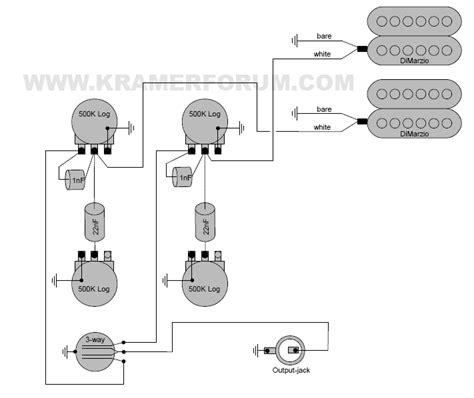 dimarzio distortion wiring diagram 4 wire humbucker