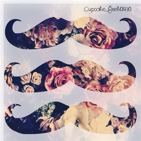 girly mustache wallpaper cute mustache wallpapers wallpapersafari
