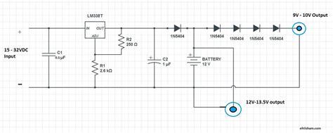 modem circuit diagram diy mini ups for dsl modem and wifi routers ehtisham