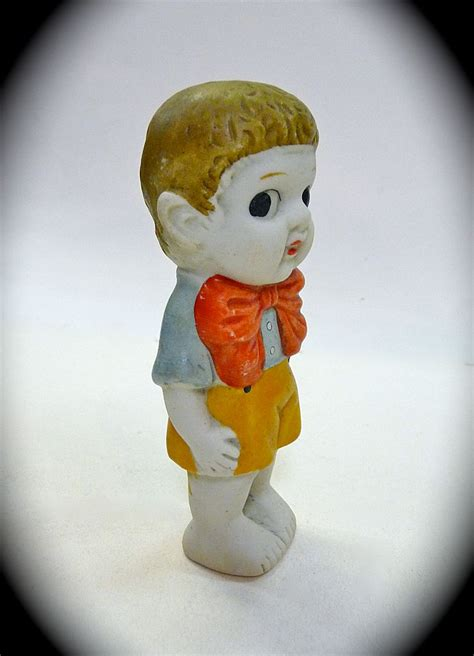 bisque kewpie doll made in japan vintage japan bisque boy kewpie doll from bejewelled on