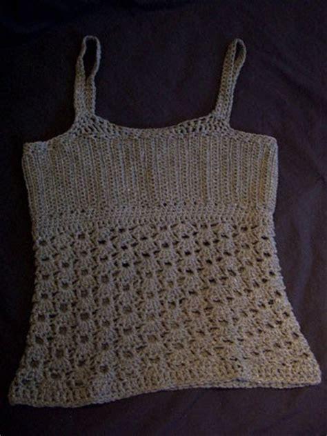 pattern crochet tank top 47 s knitting and crochet patterns custom tank top version 1