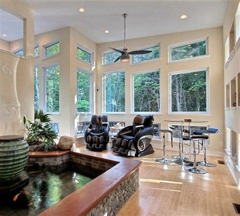 homes with indoor ponds 30 best images about indoor koi pond on pinterest
