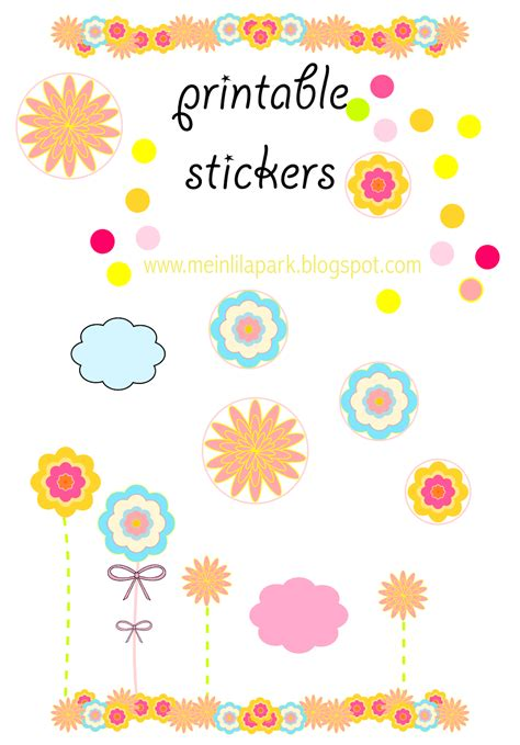 sticker printing template free printable happy mood templates and stickers