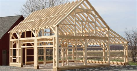 Post And Beam Garage Plans by Garage Plans Post And Beam Learn How Storage Shed Design