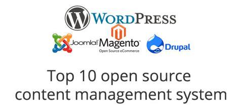 best content management system open source top 10 open source content management system