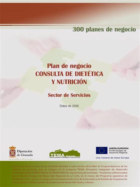 Plan De Negocios Consulta Dietetica Y Nutrici 243 N
