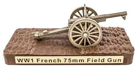 french 75mm french 75mm field artillery gun minifig battlefields