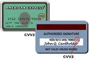 Sle Credit Card Cvv2 Number Cvv Security Codes