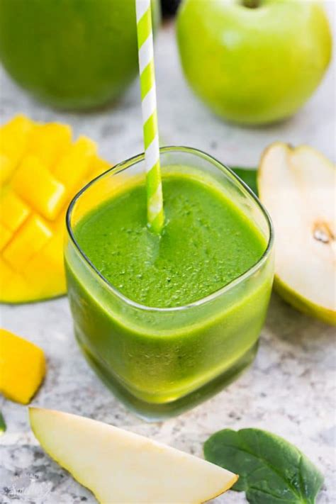 Mango Detox Smoothie by 5 Healthy Delicious Detox Smoothies Made