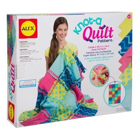 Www Alextoys Knot A Quilt by Alex Toys Craft Knot A Quilt Pattern Alexbrands
