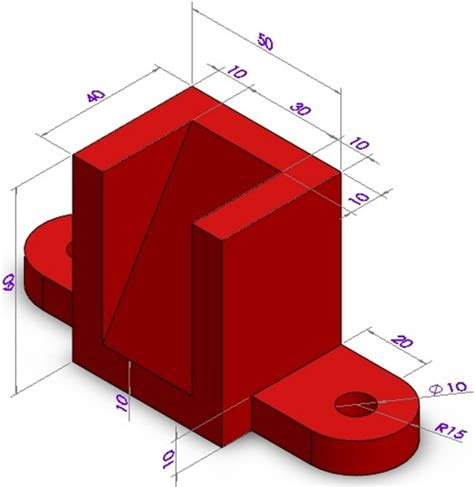 solidworks tutorial pdf for beginners part drawing with dimension to practice in pro e autocad