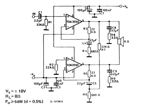 bridged lifier diagram tda2050 bridge lifier circuit search