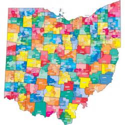 Ohio District Map by Delaware Districts Ohio