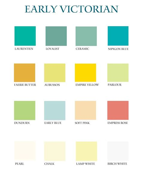 colour shades with names for external home victorian color palette share our victorian beauty