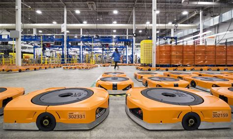 amazon warehouse robots amazon s robots job destroyers or dance partners the