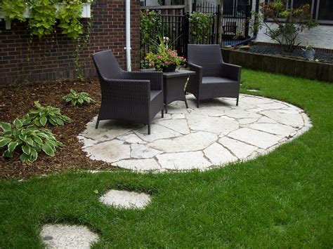 images about affordable backyard ideas oval with patio for