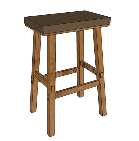 woodwork stool plans diy pdf plans