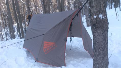 Hammock Winter noah 12 tarp in winter hammock forums gallery